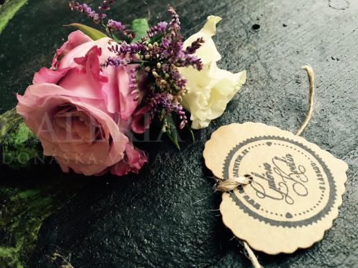 Dekorácia do vlasov Šperkovnica kvetov