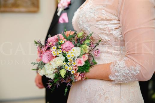 Svadobná kytica Šperkovnica kvetov