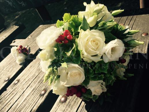 Svadobná kytica Lesná žienka