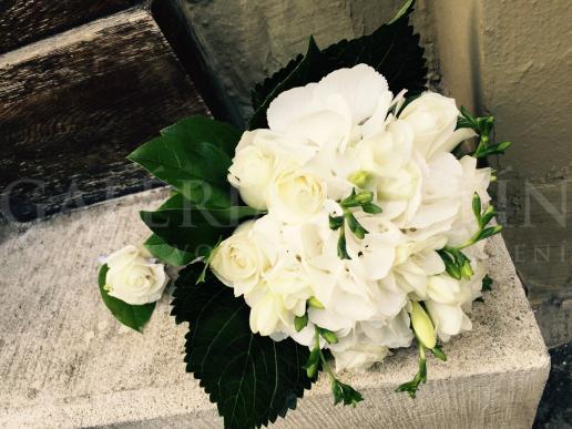 Svadobná kytica Biely variant