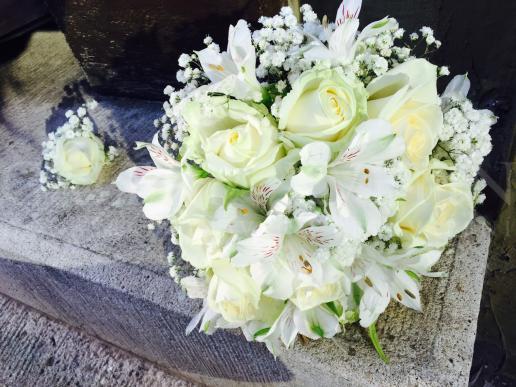 Svadobná kytica Rozkvitnuté nebo