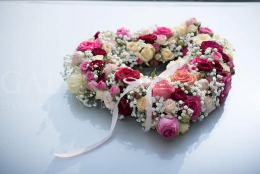 Kvetinové srdce pre princeznú