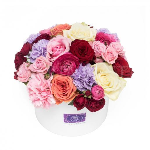 Kvetinový box BAROKO