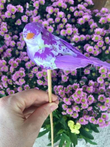 Napichovačka - Fialový vtáčik