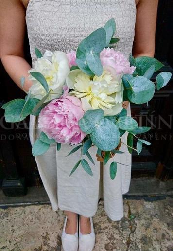 Svadobná kytica Svadobná vôňa kvetov