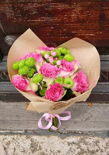 Kytica Pozdrav z ruží