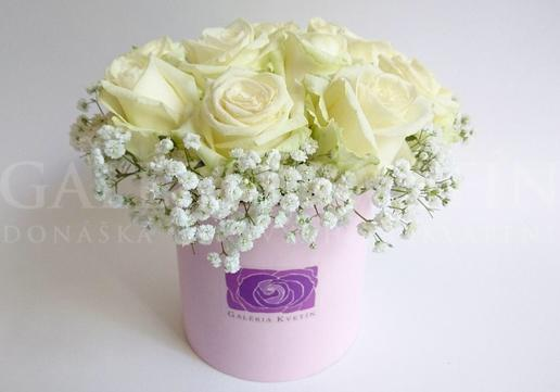 Kvetinový box KISS OF PRINCESS Mini