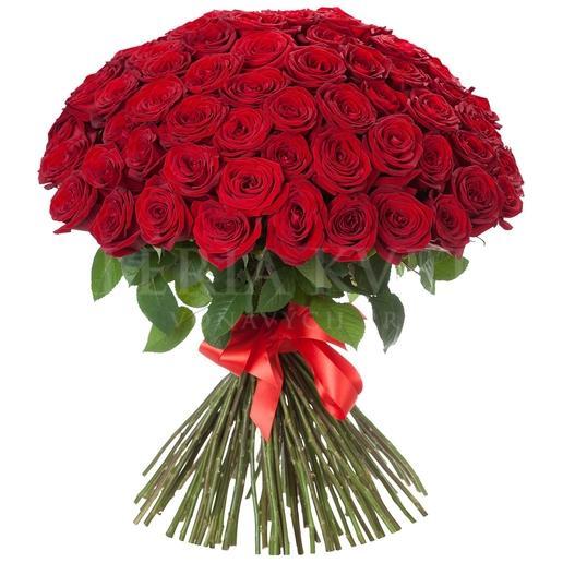 Kráľovská kytica 101 ruží donaska kvetov
