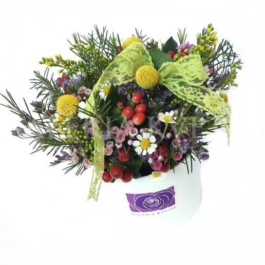 Kvetinový box LÚKA Mini
