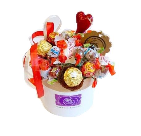 Kvetinový box ICE CREAM CANDY