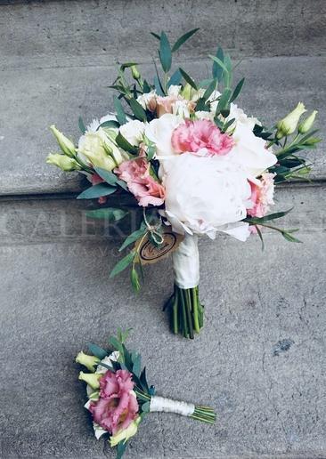 Svadobná kytica Šmrnc Paríža