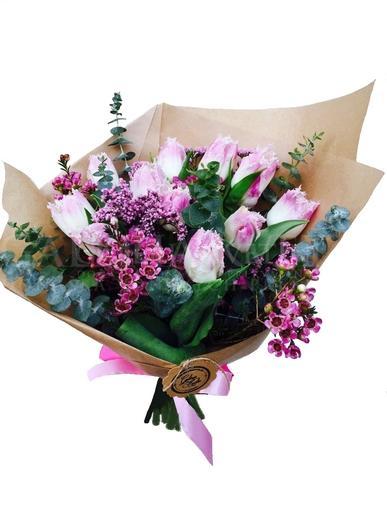 Kytica Romantická radosť tulipánov
