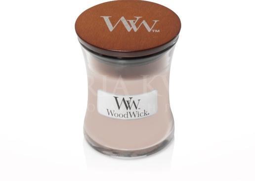 Sviečka Woodwick® malá Vanilla Sea Salt
