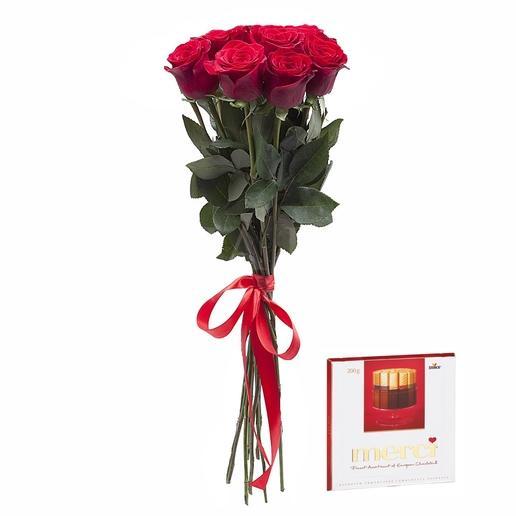 Kytica 7 ruží + Merci