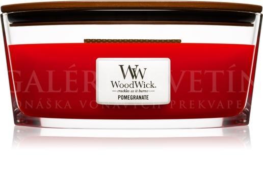 Sviečka Woodwick® loď Pomegranate